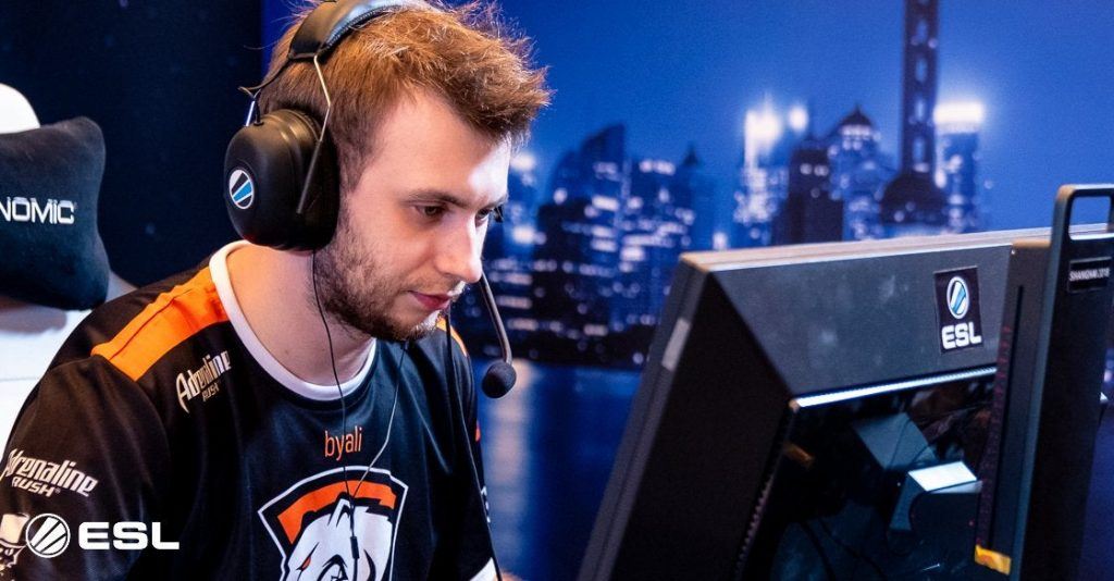 Byali added to ex-Virtus.Pro roster