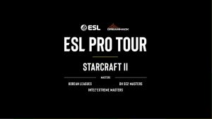ALIVE GAME! ESL Adds Starcraft II to Pro Tour Circuit with $1.8 million in Prize Money