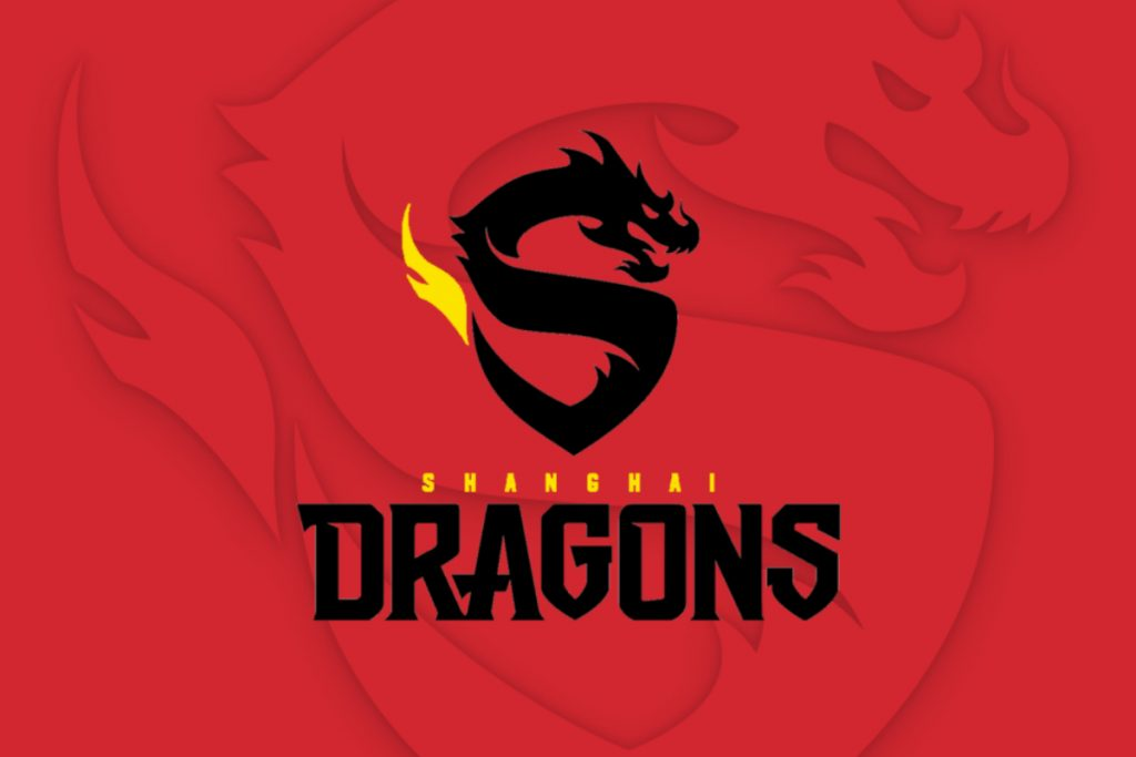 Shanghai Dragons logo