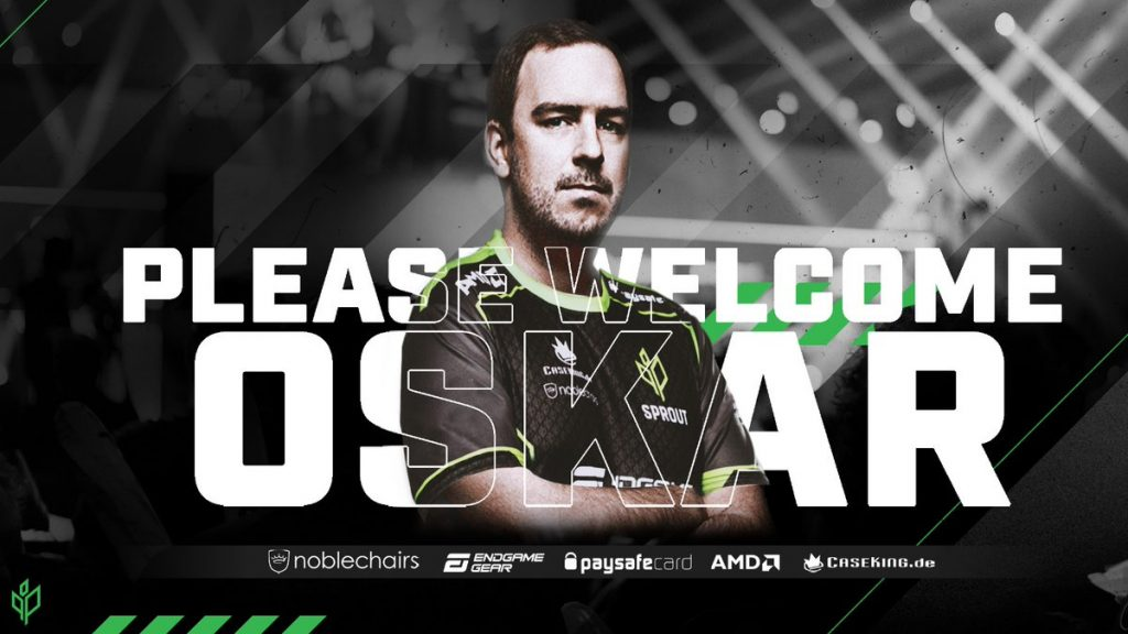 Oskar last played on HellRaisers, where an unfruitful six-month occupancy coaxed Oskar into leaving the team and announcing his free agency (Image via Sprout)
