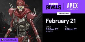 Twitch Rivals Drop Zone Showdown Teams Set