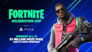 Epic Announces PS4 Exclusive Fortnite Celebration Cup