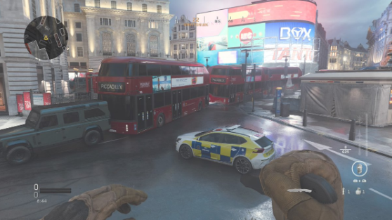 Piccadilly call of duty