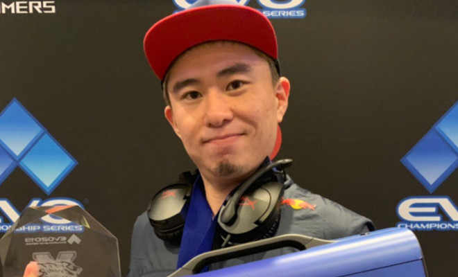 """""""I feel that the way we professional fighting gamers live is quite hard..."""" Bonchan said in his statement (Photo via Bonchan/Twitter)"""