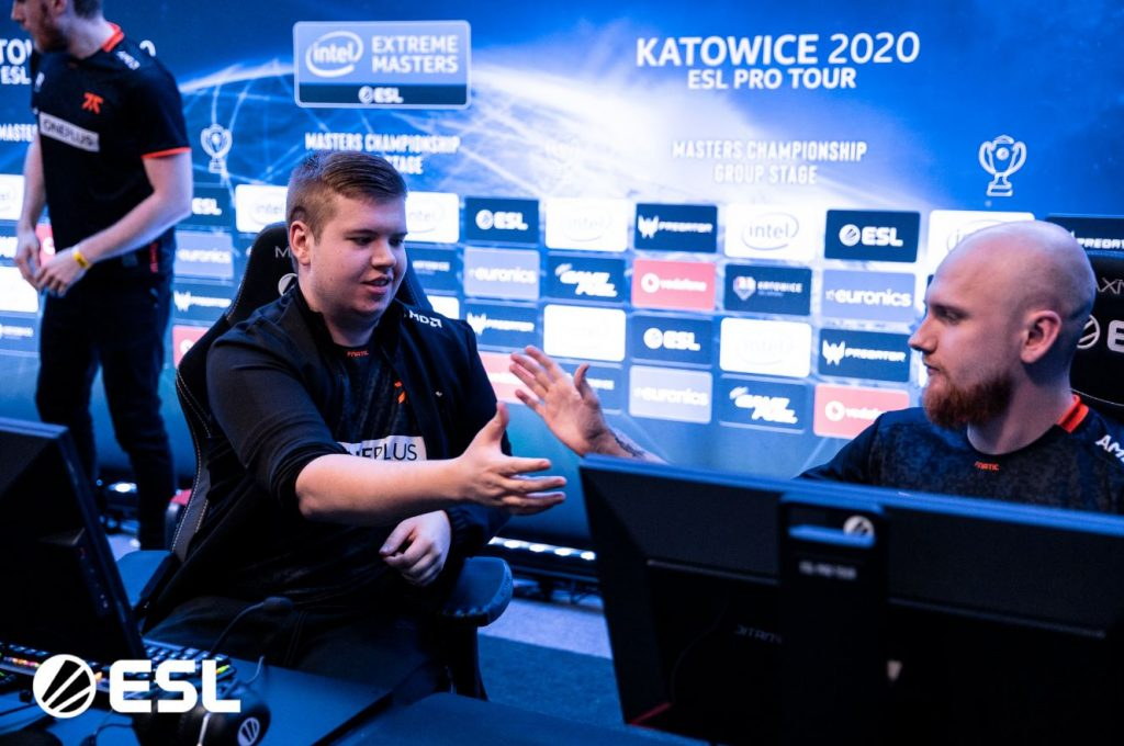 Astralis and Fnatic Top Group A at IEM Katowice