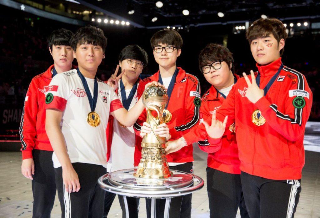 Season Six Worlds winners Skt t1