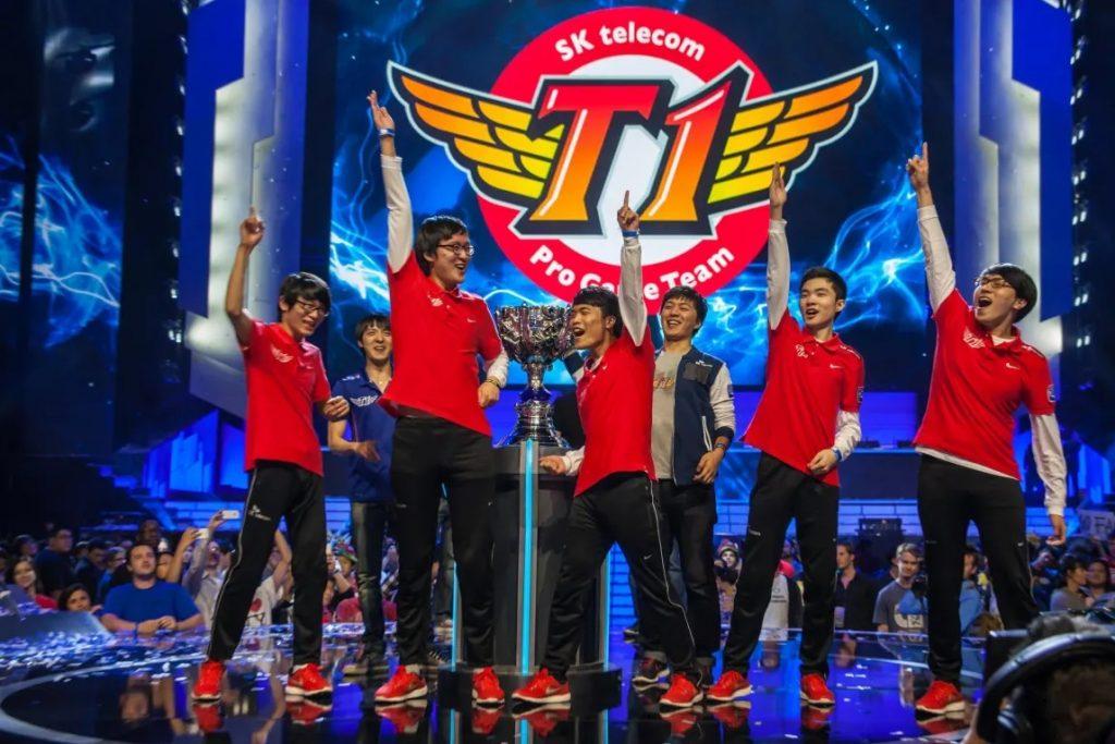 Season three Worlds winners SKT T1