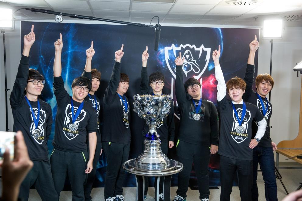 Season Five Worlds winners SKT T1