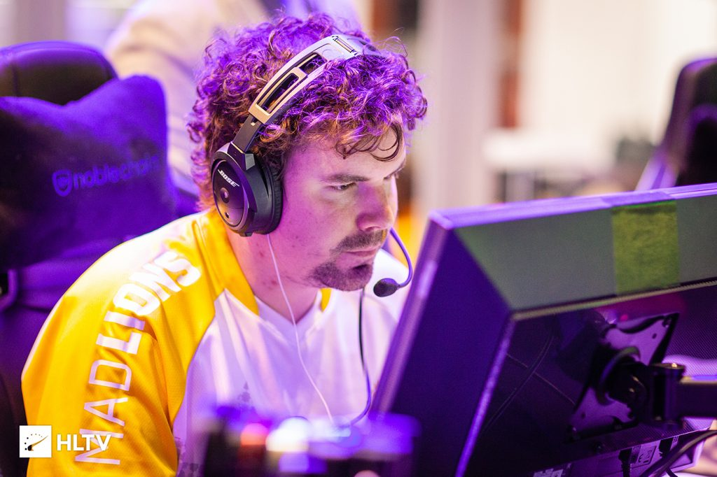 MAD Lions have benched IGL HUNDEN days before their next event (Photo via HLTV)