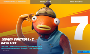 Fortnite to Remove Legacy Aim Assist
