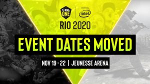 ESL One Rio Major Postponed to November