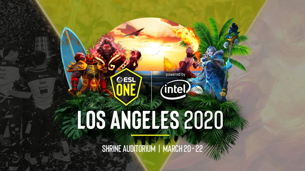 The ESL One Los Angeles Major's cancellation came less than three days before it was set to start (Image via ESL)