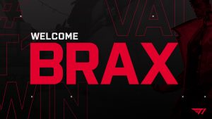 T1 Signs Brax for Valorant and Other FPS Titles