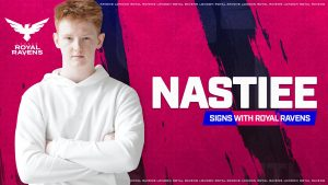 London Royal Ravens Add Nastiee to Starting Roster