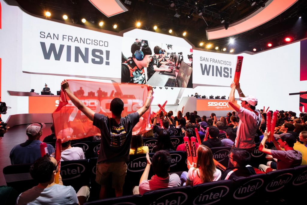 The Shock, Dynasty, Valiant, and Gladiators will play four matches during the first weekend of the online format (Photo via Blizzard)