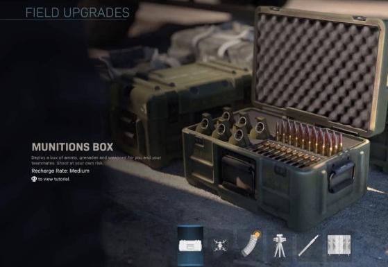 Munitions box warzone
