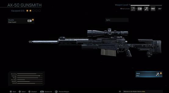 warzone sniper rifle