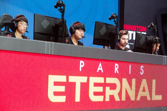Paris Eternal preparing to play Overwatch
