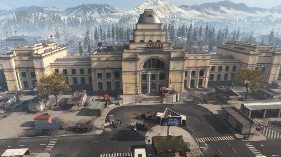 Verdansk Train Station warzone