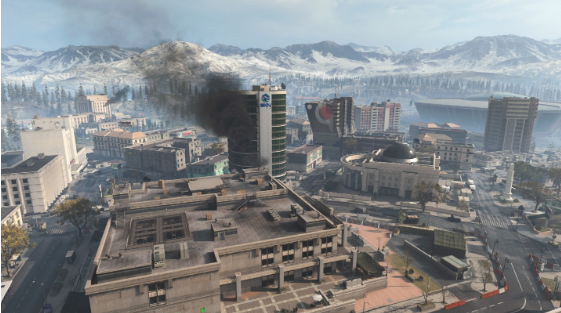 Downtown Tavorsk District warzone