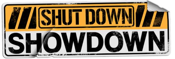 Shutdown SHowdown logo