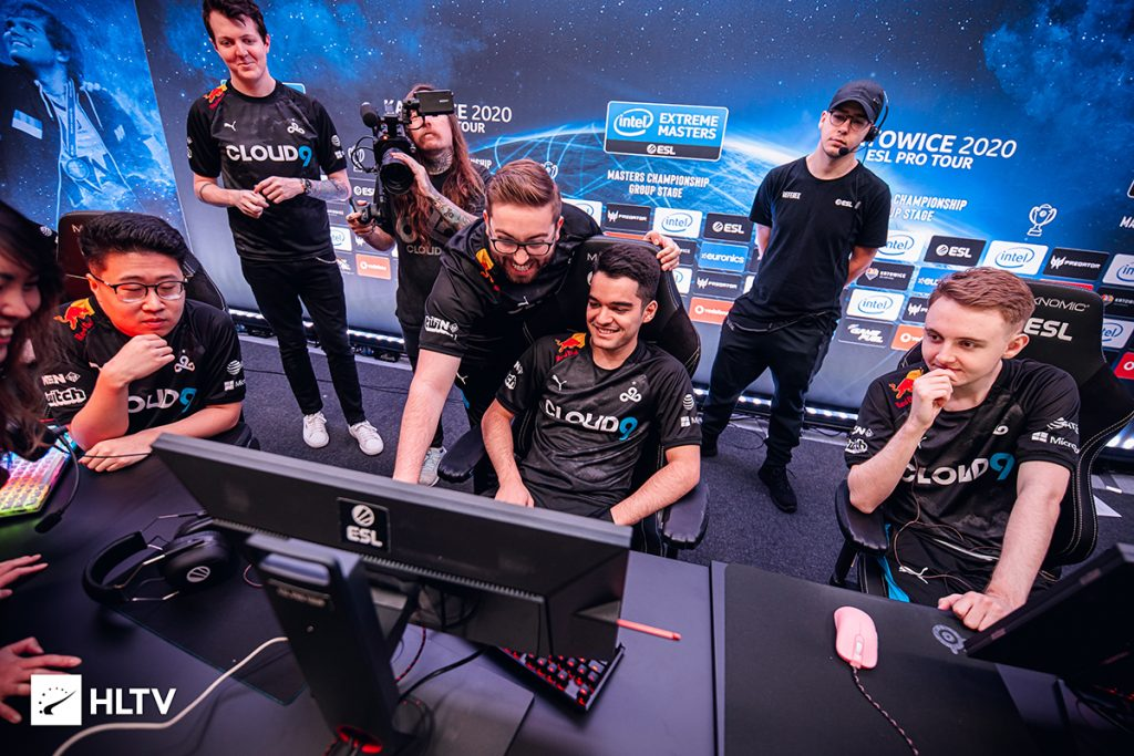 Cloud9 have won their first match at Flashpoint against a favored FunPlus Phoenix squad (Photo via HLTV)