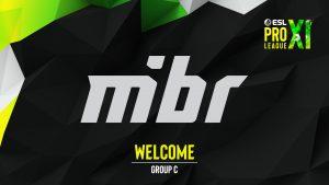 MiBR Joins ESL Pro League Season 11