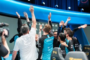 Cloud9 took all five spots on the first team All-Pro after a 17-1 season.(Photo courtesy Oshin Tudayan - Riot Games)