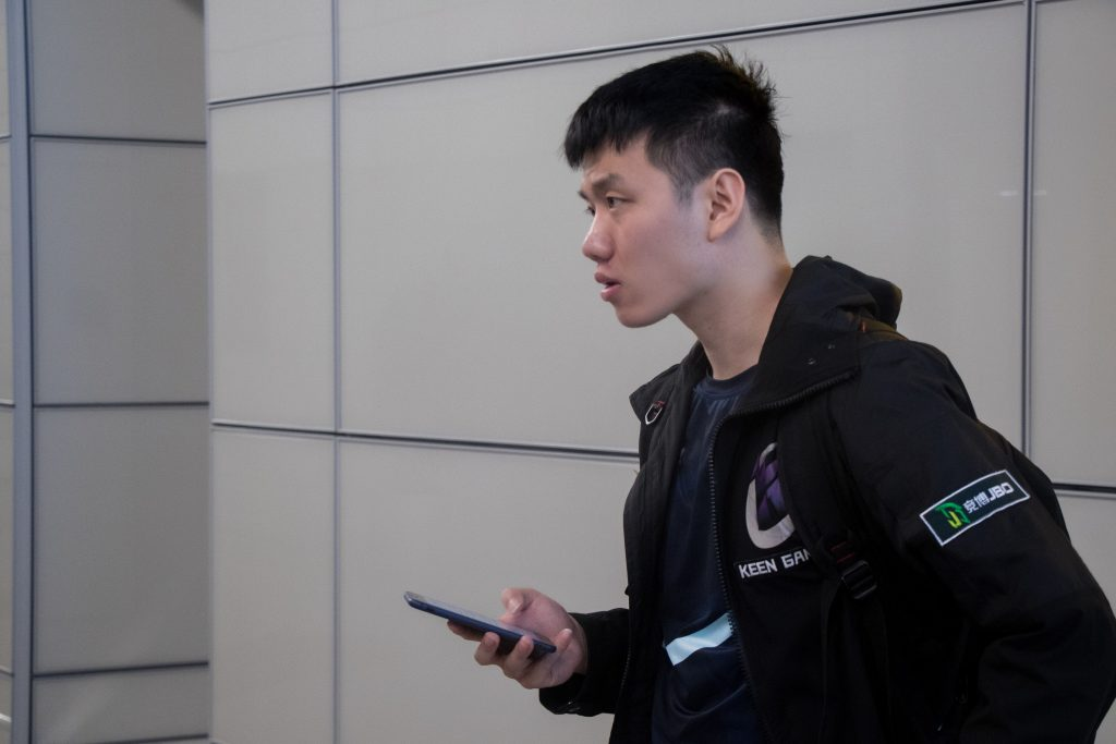 """Zhai """"一"""" Jingkai is the only player from the previous Keen Gaming roster who survived the reshuffle."""