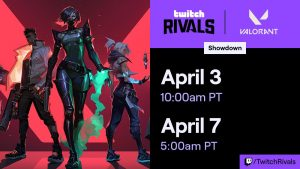 Twitch Rivals to Host VALORANT Showcase and Showdown