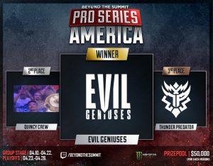Fnatic & Evil Geniuses Victorious at BTS