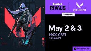 Twitch to Host Rivals VALORANT EU Showdown