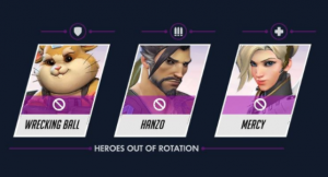 Only Three Heroes in Overwatch's Latest Ranked Bans