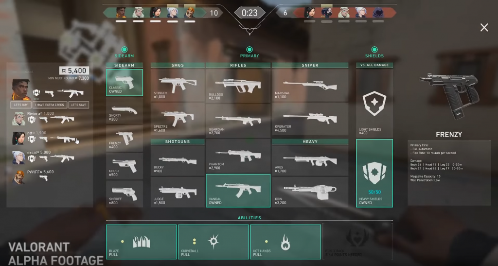 VALORANT Complete Weapon Guide - Hotspawn.com