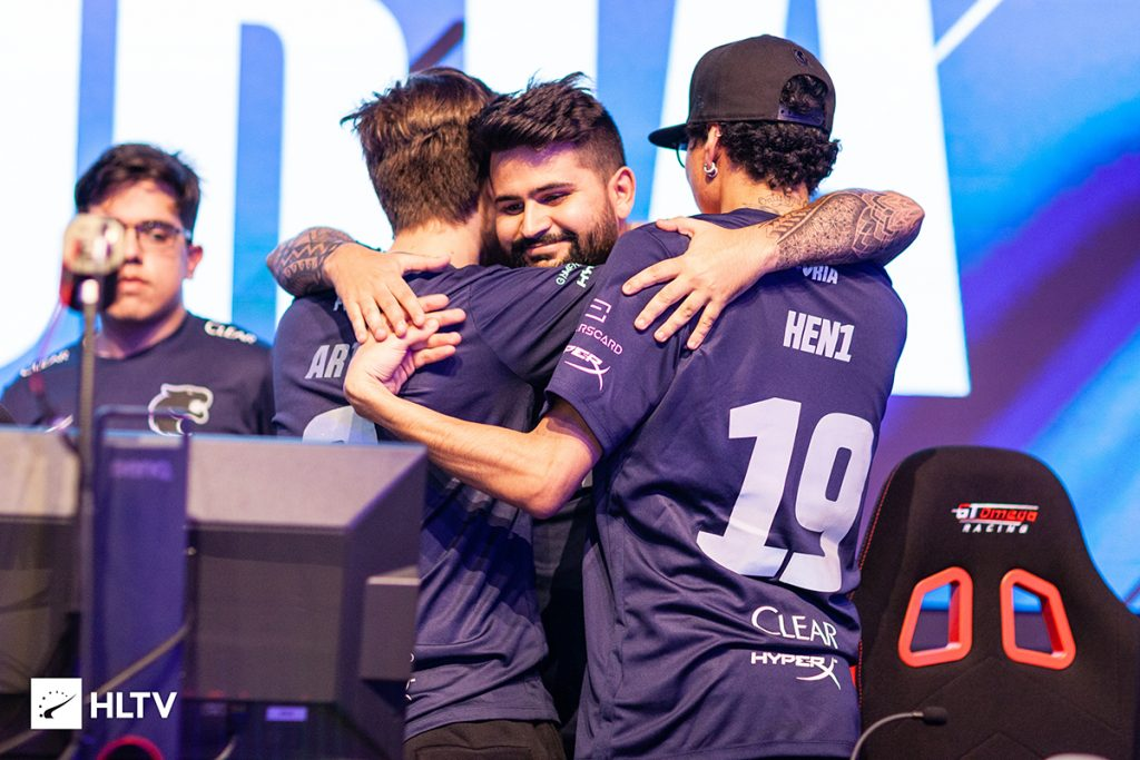 FURIA have gone undefeated in Group B of NA's Road to Rio, securing a semifinals berth (Image via HLTV)