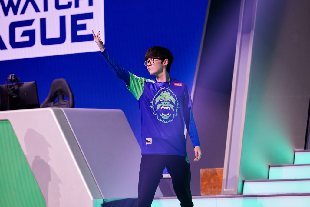 JJANU has signed with the Washington Justice along with former Vancouver teammate Stitch. (Image via Robert Paul for Blizzard Entertainment)