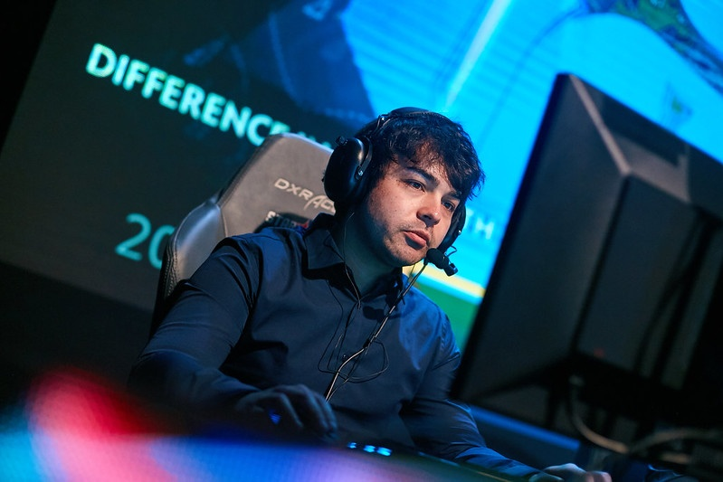 """Brax told Hotspawn """"I am worried about Dota's longevity in North America but I have no control over it so any discouraging thoughts towards it ends there for me"""" (Photo via Starladder)"""