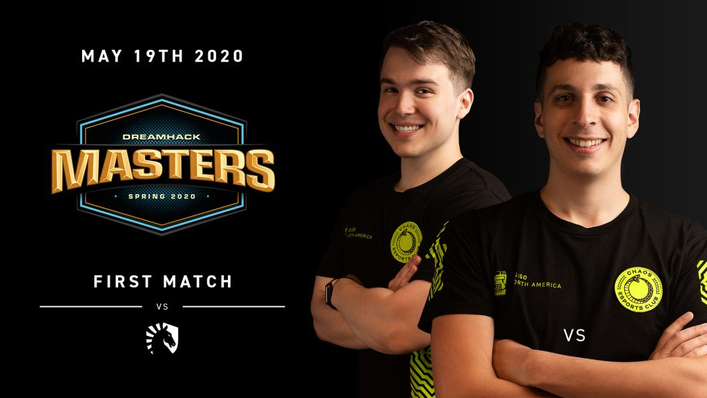 Chaos is now the fourth team in DreamHack Masters Spring after Bad News Bears announced they were disbanding (Image via Chaos Esports Club)