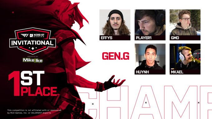 Gen.G's French-Canadian roster win the Grand Finals 2-1 over Team Brax (Image via T1 Entertainment)