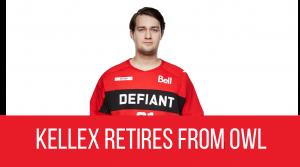 Toronto Defiant Main Support Kellex Retires