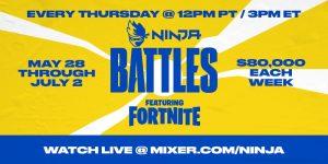 Ninja Announces Ninja Battles Fortnite Invitational