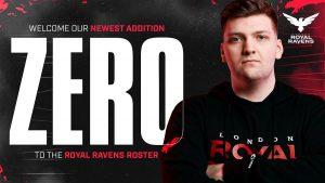 Zer0 Joins London Royal Ravens