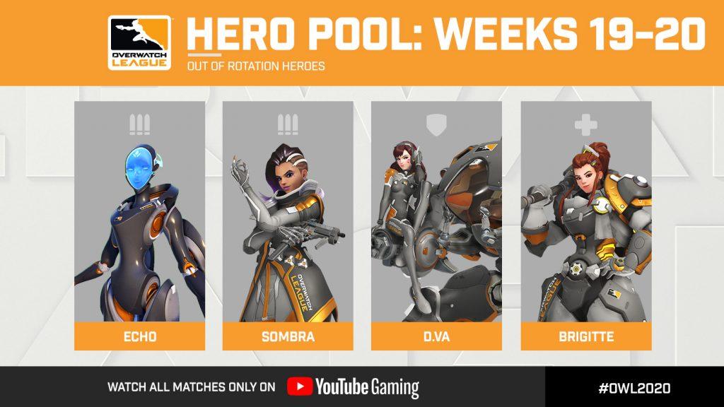 Overwatch Hero Pools for Weeks 19-20
