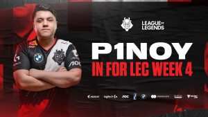 P1noy to Start for G2 Esports in LEC Week Four
