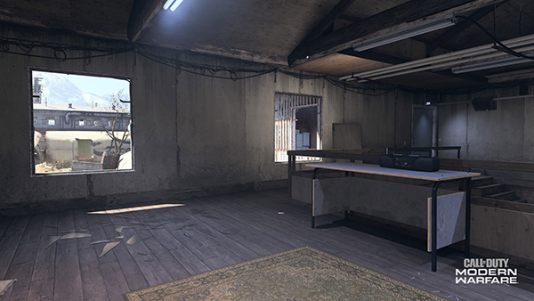 Green Warehouse on Scrapyard has perfect sniping angles on its second floor.