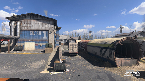 The East Side of Scrapyard is where you can find the highly contested Blue Warehouse.
