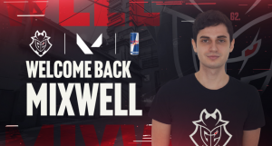 G2 Esports Sign Mixwell to VALORANT roster.