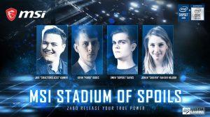 MSI Reveals Stadium of Spoils Fan Event