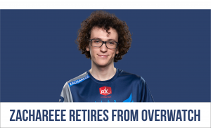 Zachareee Retires From Overwatch to Pursue VALORANT