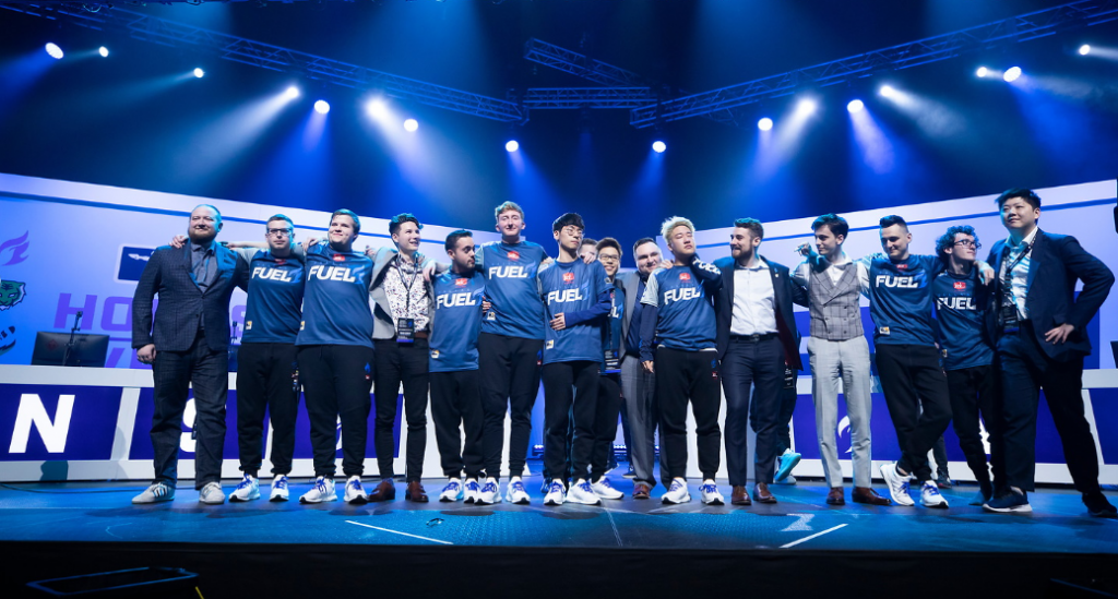 After five years of grinding Tier 2, Onigod finally earned a Overwatch League contract (Photo via Robert Paul | Blizzard Entertainment)